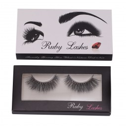 Beautyforever 3D Mink Lashes Natural False Eyelashes Extension 1Pairs Makeup Hand-made Long Lashes Natural Soft - T