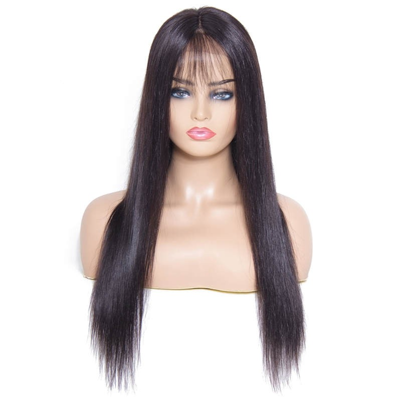 Pre-Plucked Silky Straight Hair Wig