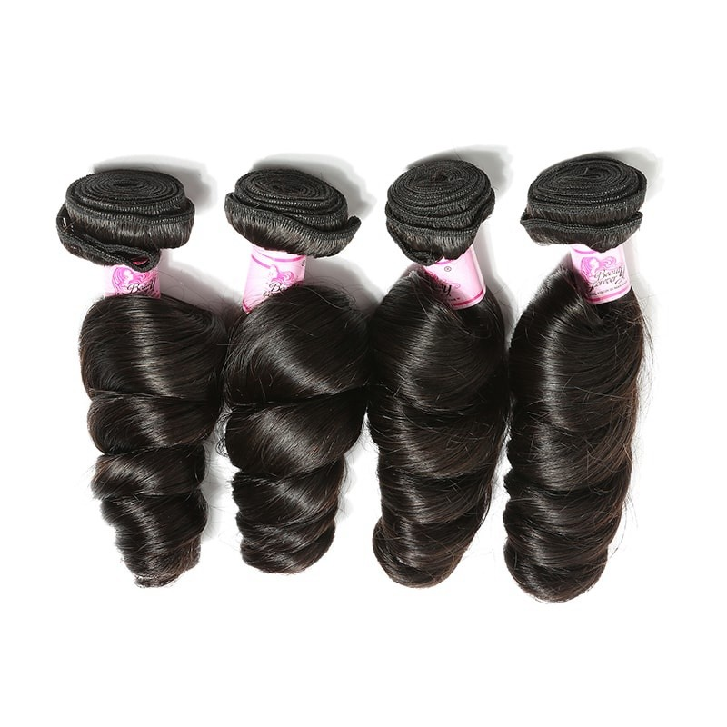 Beautyforever Top Quality 4pcs Pack Indian Loose Wave