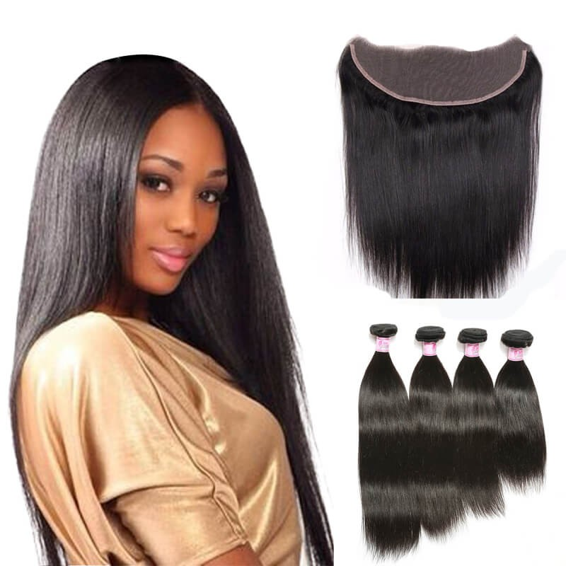 Beautyforever 7a Peruvian Straight Lace Frontal Closure 13