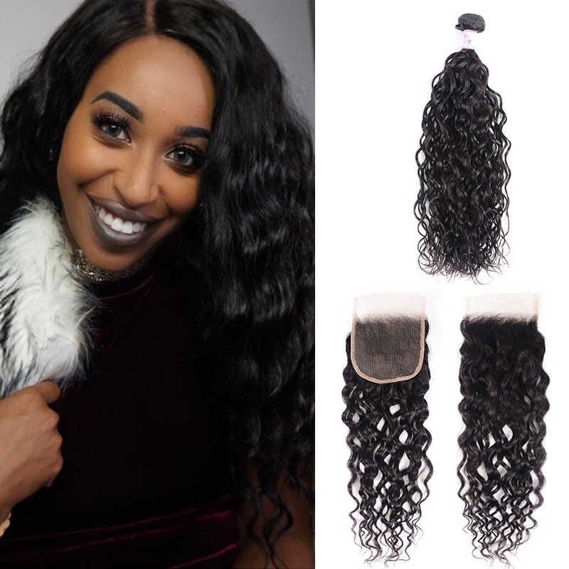 Indian Water Wave Closure With Bundles