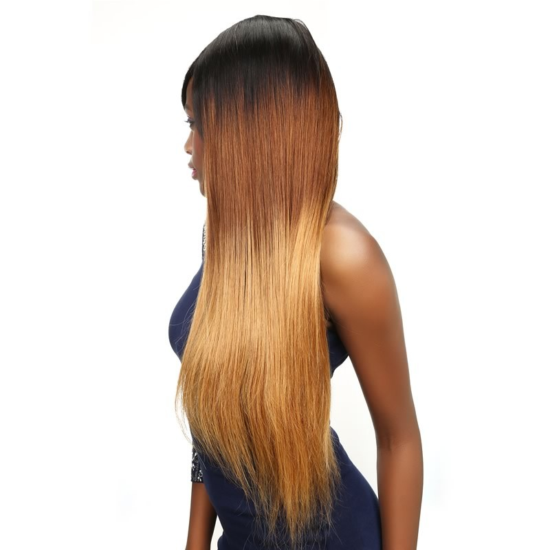 Beautyforever Brazilian Ombre Straight Hair Weave 4bundles