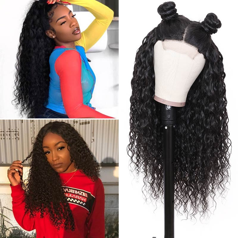 Beautyforever Jerry Curly Realistic 360 Lace Frontal 100