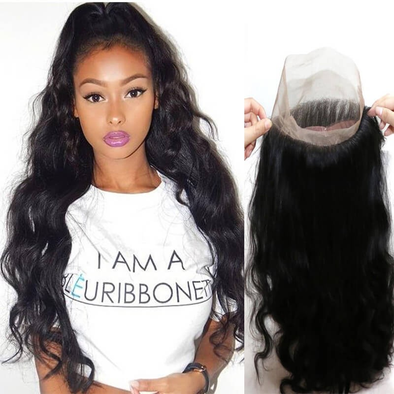 360 lace closure body wave