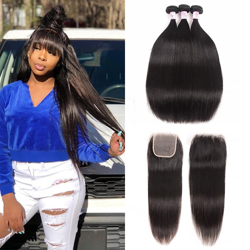 straight bundles with closure