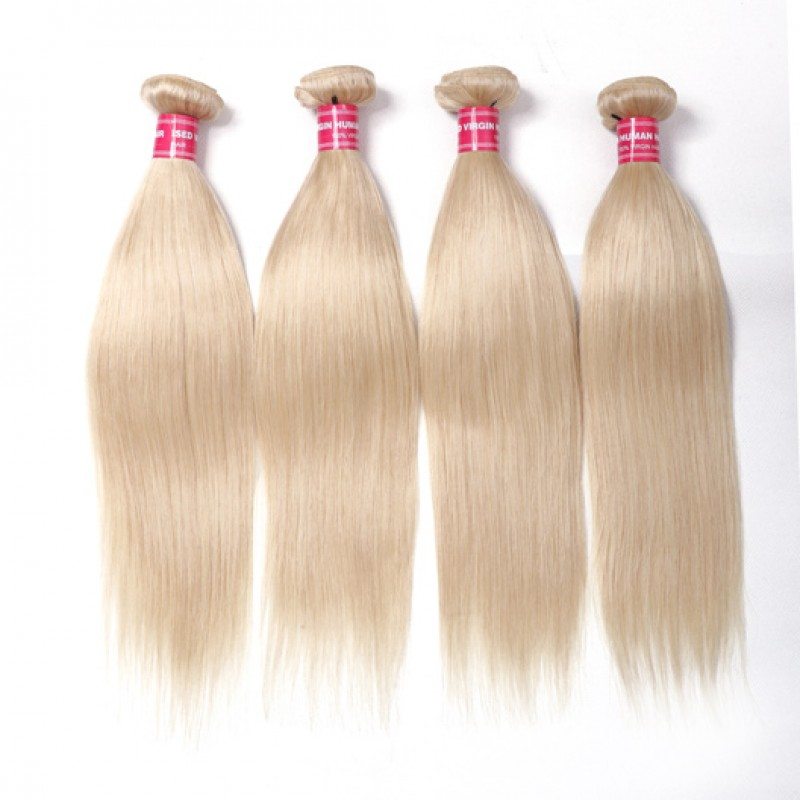 Beautyforever 4bundles Straight Weave 613 Blonde Hair