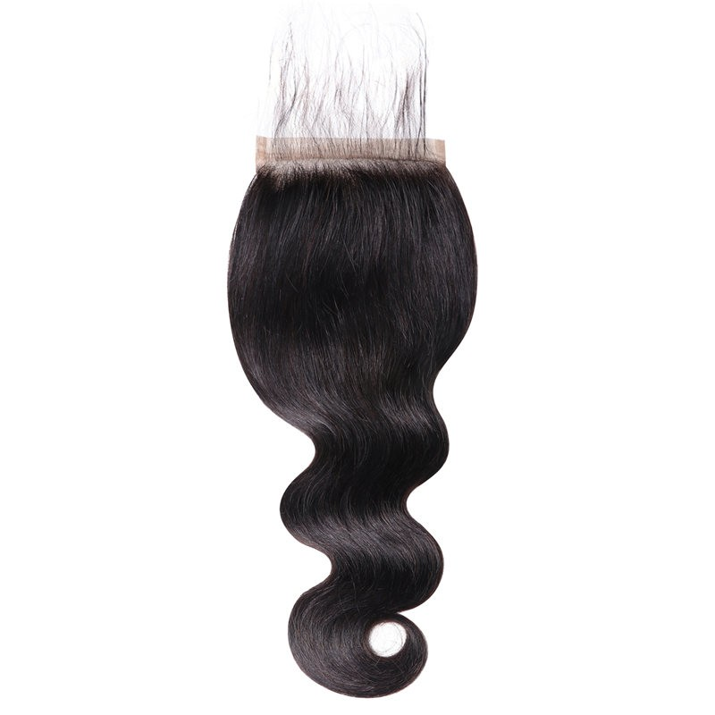 Beautyforever 5 By 5 Body Wave Human Hair Natural Looking Lace Closure Piece
