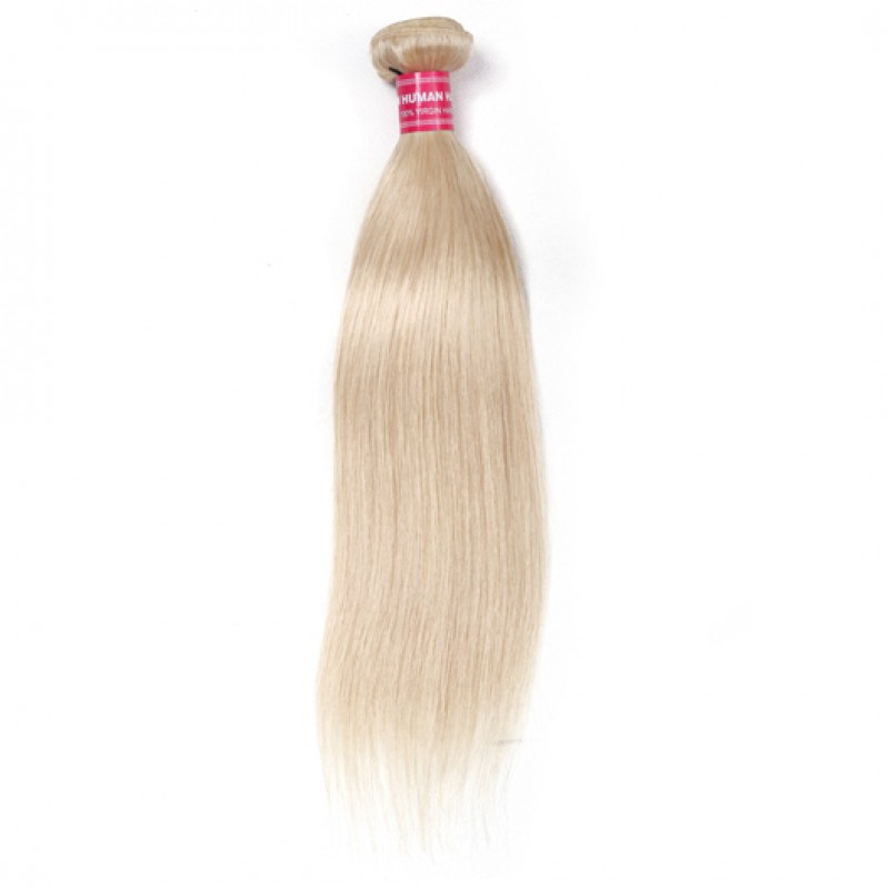 Beautyforever Long Straight 613 Blonde Human Hair Weave 1pcs 16 24 Inch