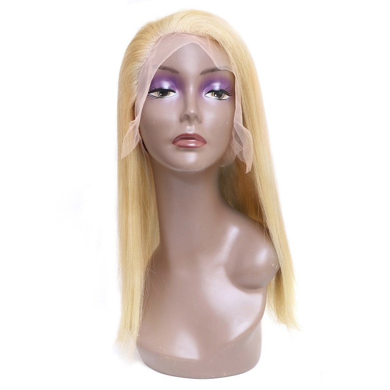 613 Blonde Full Lace Human Hair Wigs