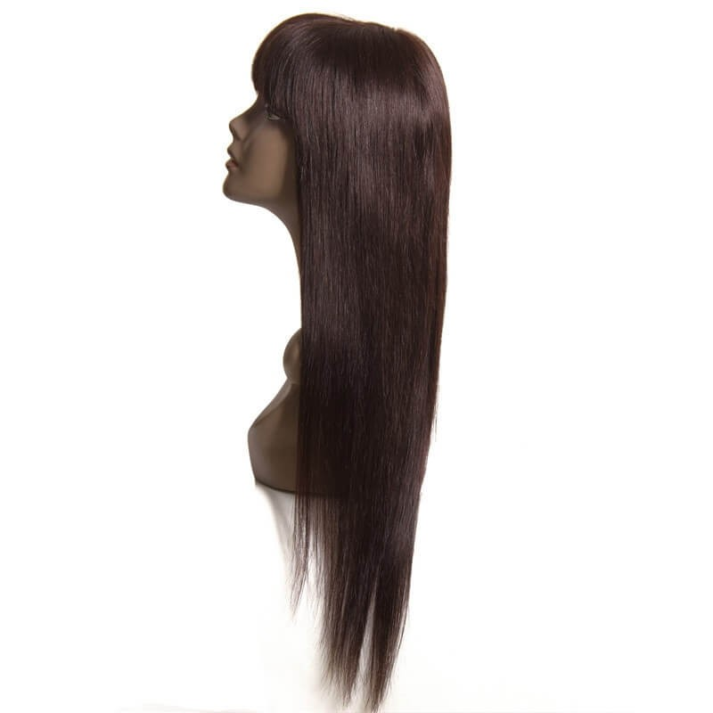 Long Hair Wigs With Bangs