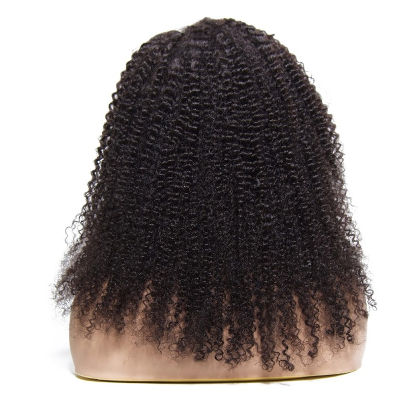 Beautyforever Afro Kinky Curly Human Hair Lace Front Wigs ...