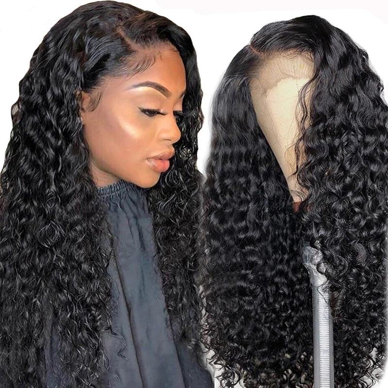 Jerry Curly Swiss HD Lace Front Wigs