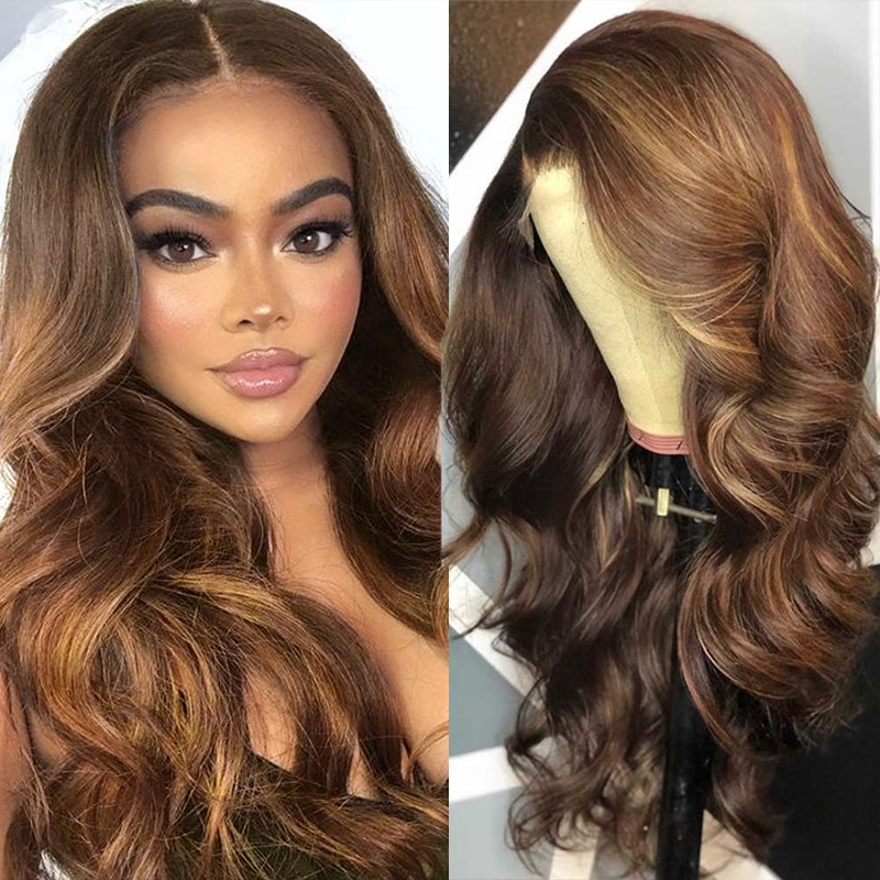 13x4 Human Hair Lace Front Wigs