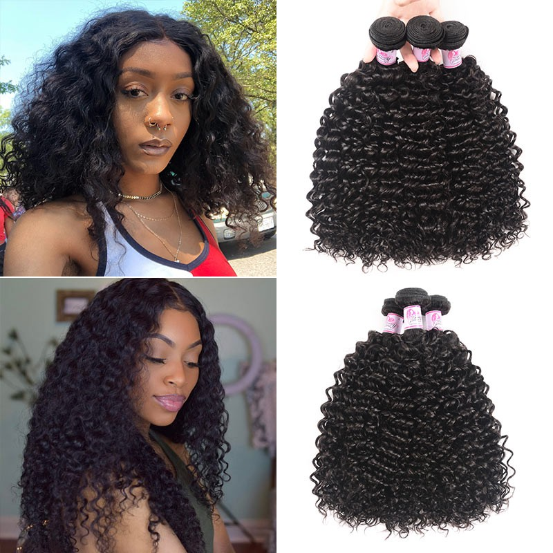 Brazilian Jerry Curly Hair Weave