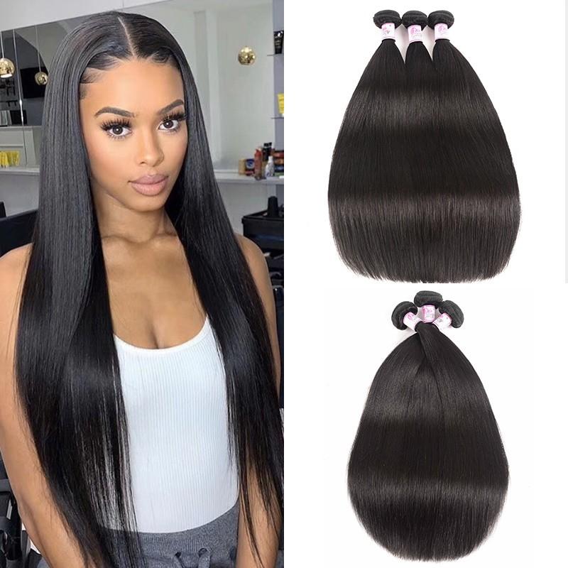 Brazilian Straight Hair 3 Bundles