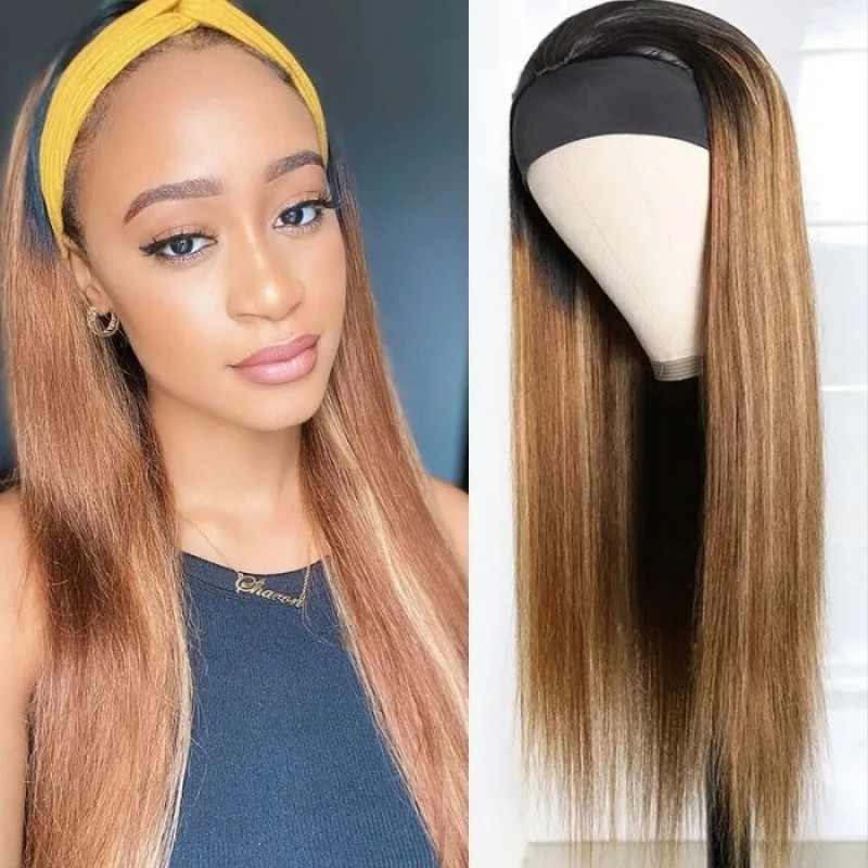 Highlight Blonde Color Wigs