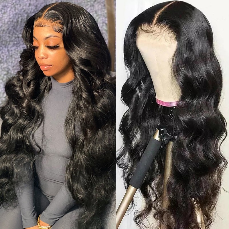 Body Wave 4X4 Lace Front Human Hair Wig