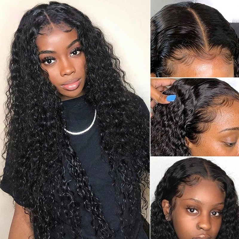 Jerry Curly 5x5 HD Lace Wigs