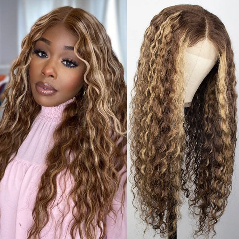 Highlight Colored 13x4 Lace Front Wigs