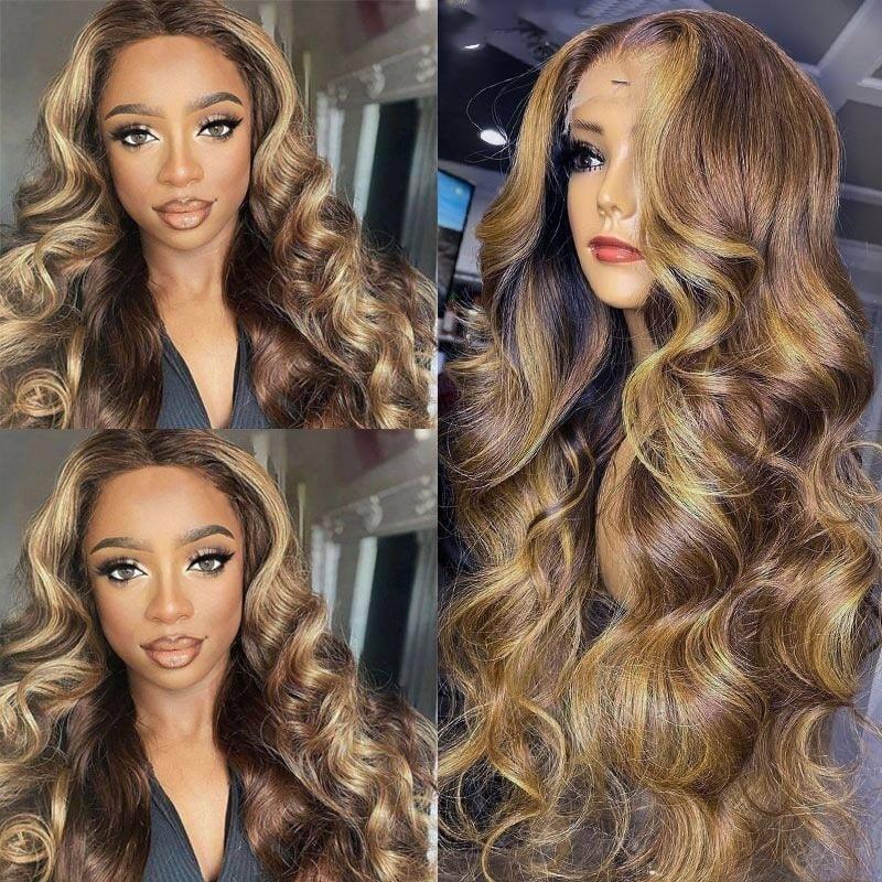TL412 Color Lace Part Wig