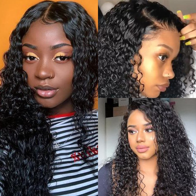 Long Curly 360 Lace Wig