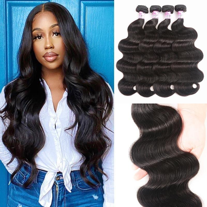 Body Wave Virgin Hair 4Bundles