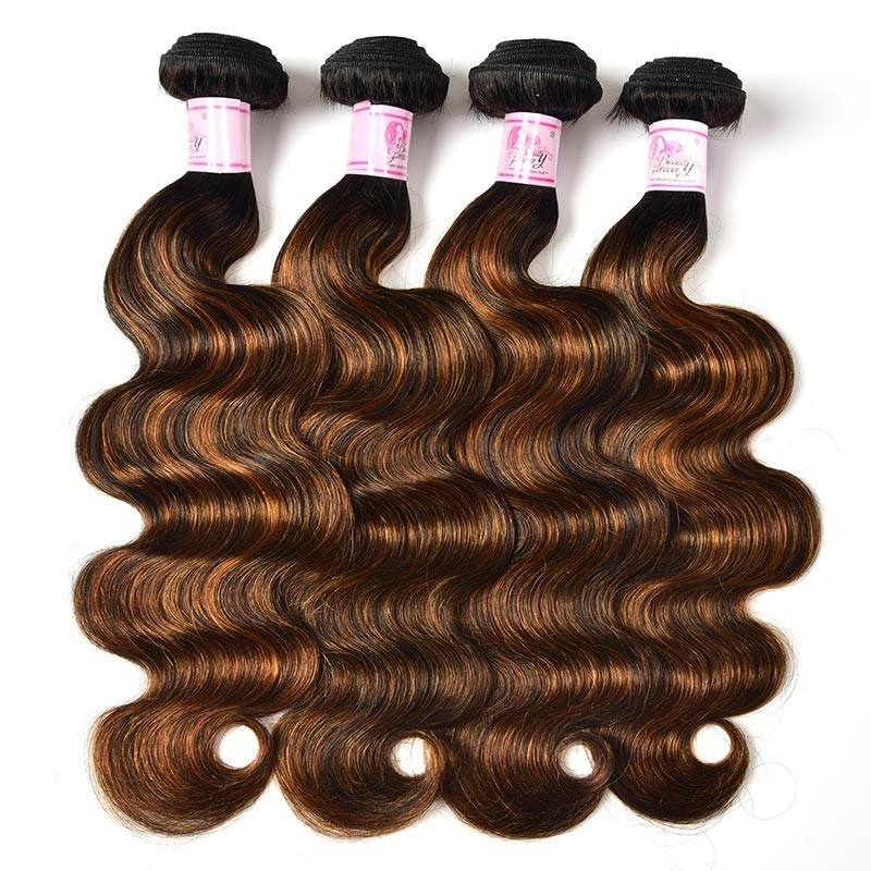 4PCS Brazilian Hair #FB30