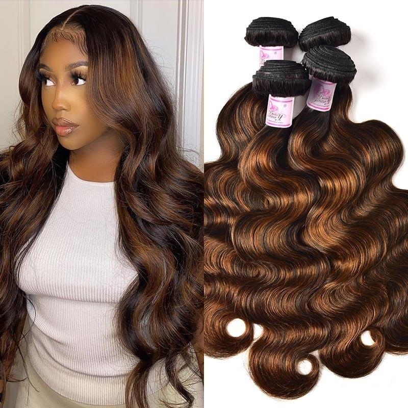 #FB30 Color Hair Weave