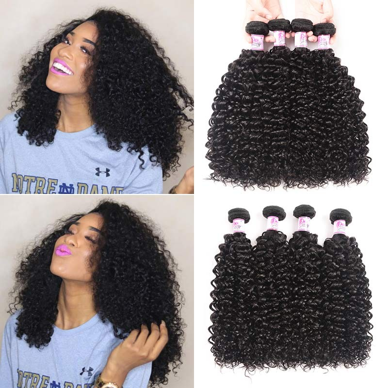 Jerry Curly Weave 4Bundles