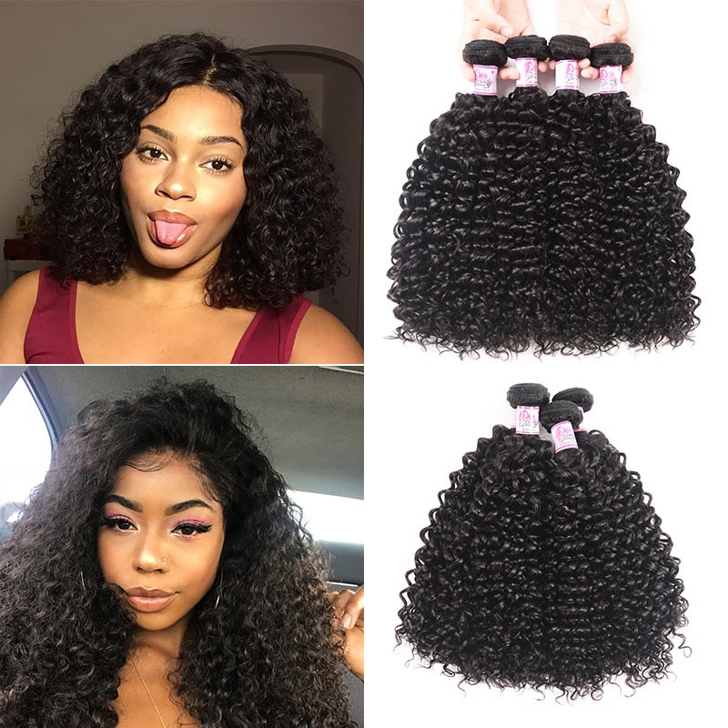Peruvian Jerry Curly Human Hair