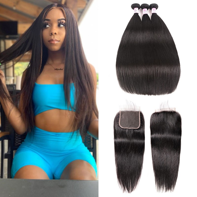 remy bundles with closure
