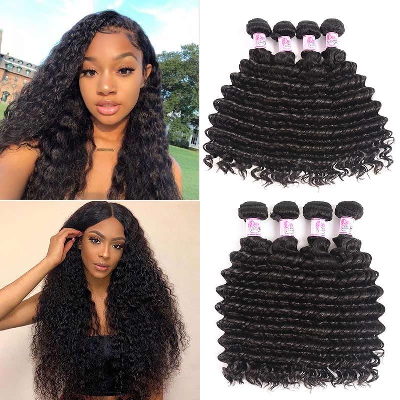 4 Bundles Malaysian Deep Wave Hair