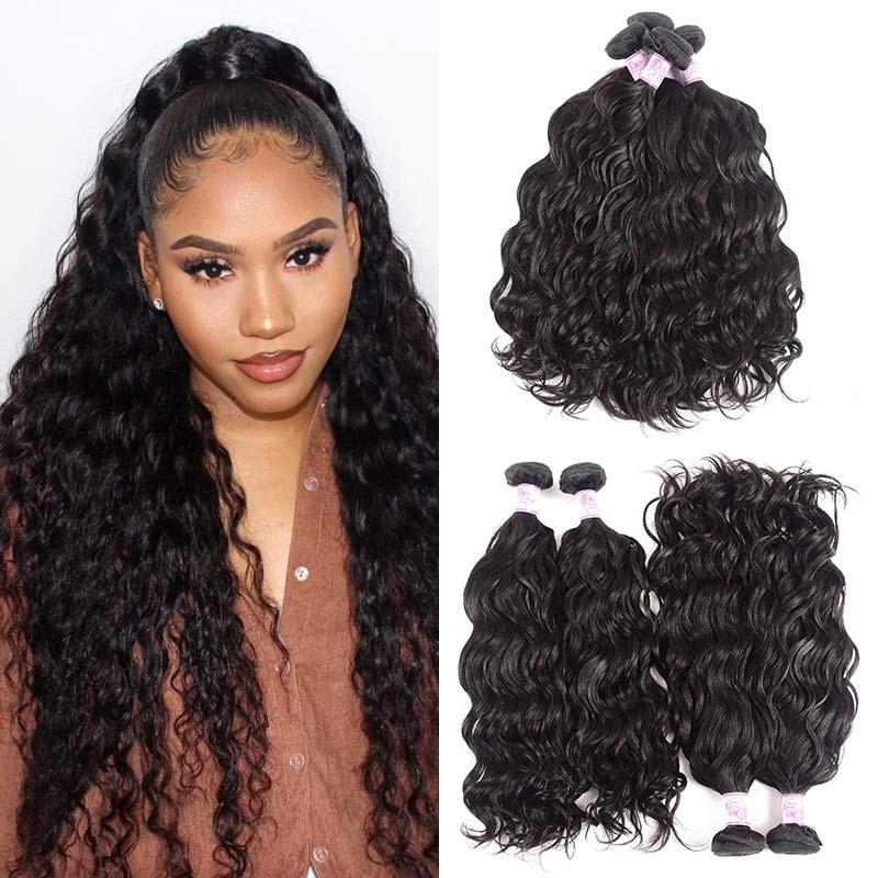 Natural wave human virgin hair