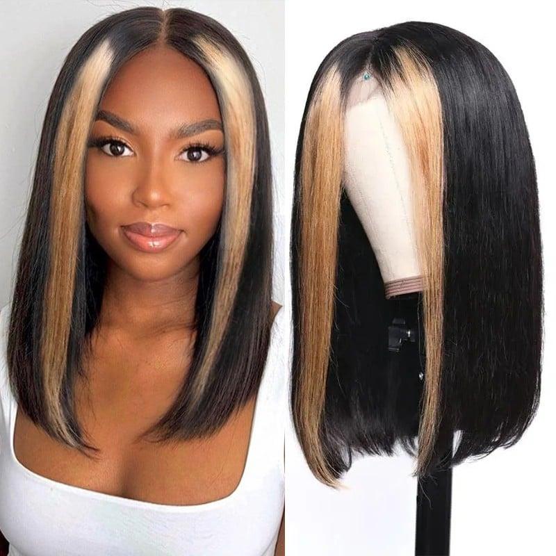 Blonde Highlights Color wig