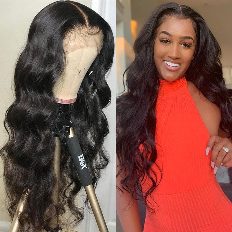 Body Wave 4X4 Lace Closure Wigs