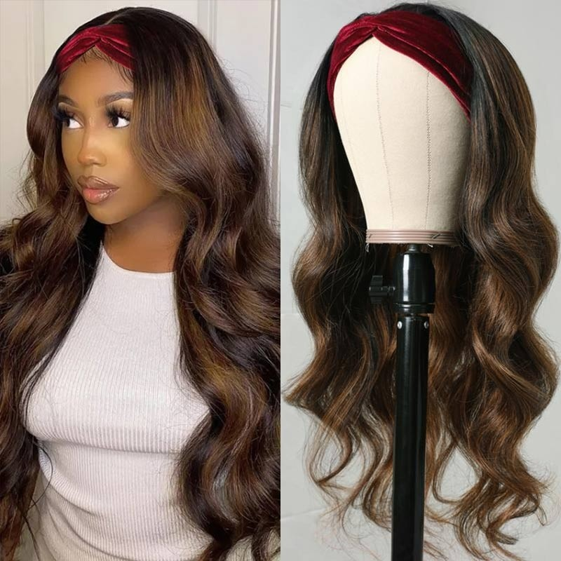 #FB30 Color Headband Wig