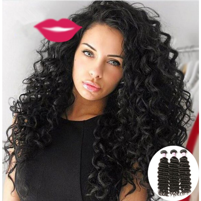 deep wave human hair styles beautyforever 7a indian wave hair weave 8953 | deep wave weave 12