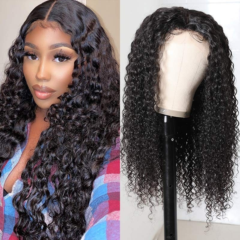 Jerry Curly Hair Human Hair Wigs