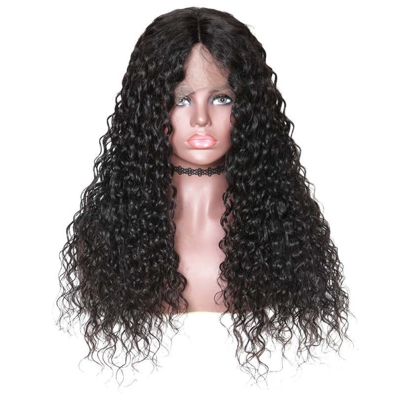 Beautyforever 360 Lace Frontal Long Water Wave 180% Density Human Hair Wigs On Sale