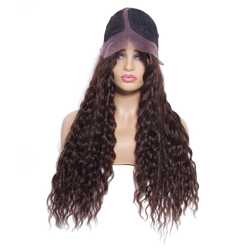 Beautyforever Best Curly Wavy Human Hair Wigs 2 Colors
