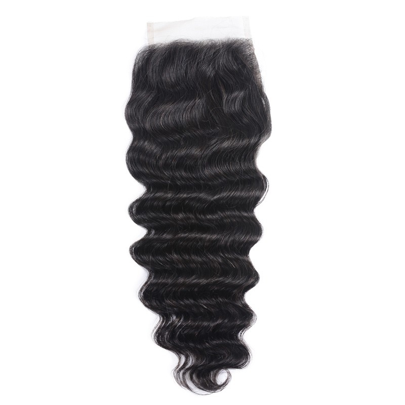 Loose Deep Wave 4x4 Inch Lace Closure