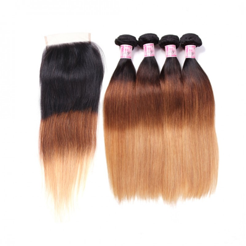 1b/4/27 Ombre Hair Weave