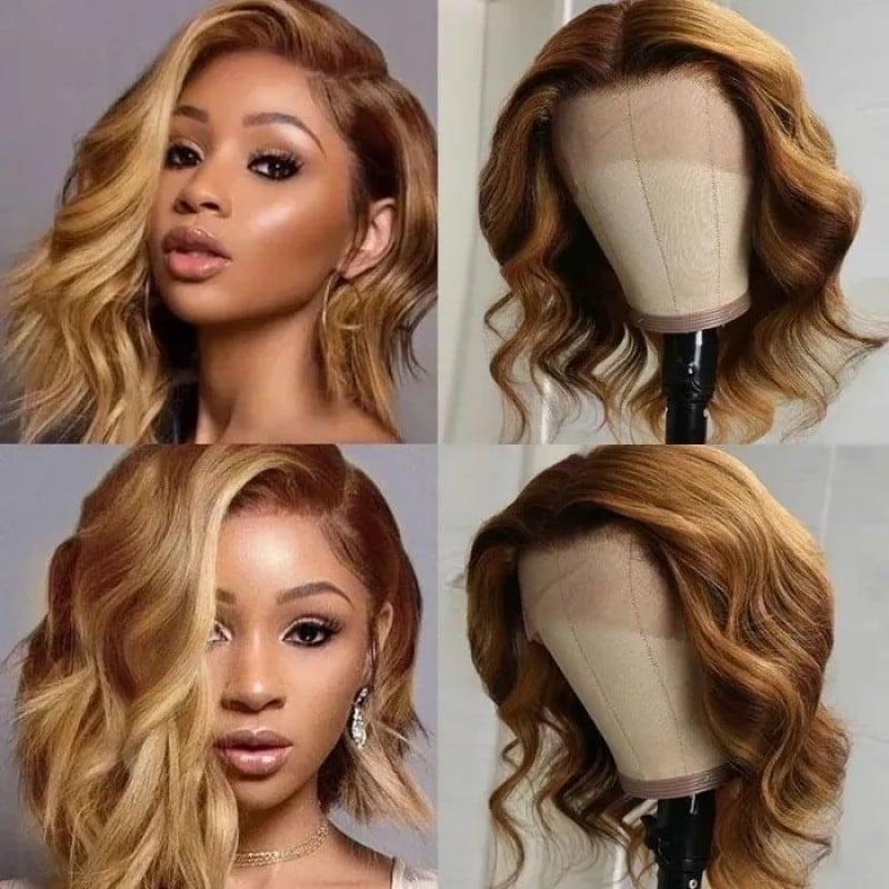 Celebrity Wave Bob Style Wigs