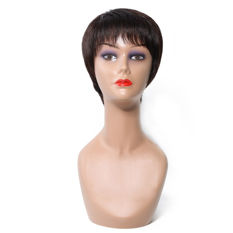 Short Pixie Human Hair Wig