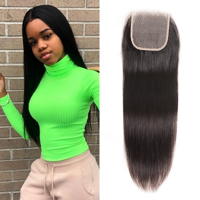 Malaysian Hair Straight HD lace Closure