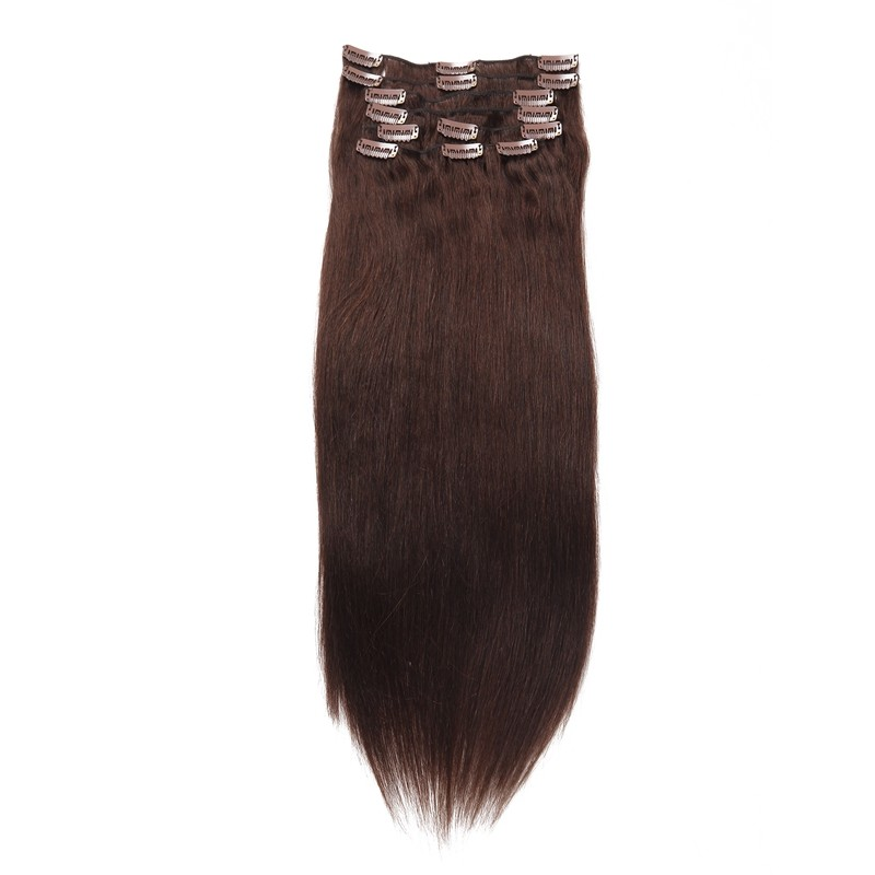 Beautyforever Cheap Peruvian Clip In Hair Extensions Remy Straight Hair