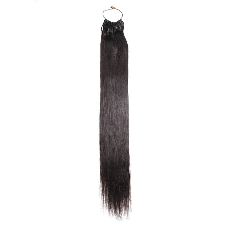Beautyforever Natural Black 1b Straight String Human Hair Extensions
