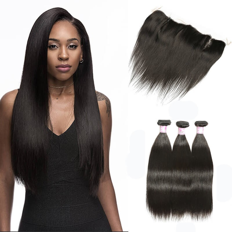 Beautyforever High Quality Indian Lace Frontal Closure