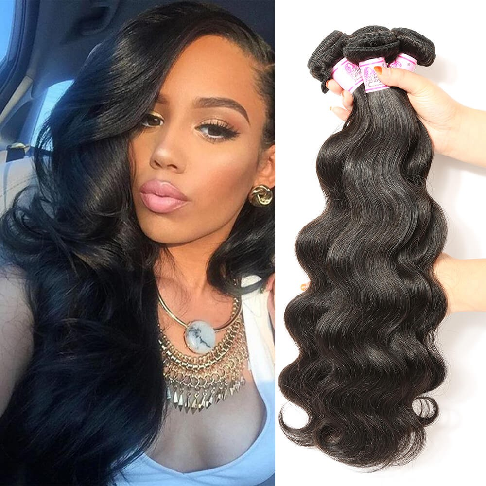 Beautyforever Indian Body Wave Virgin Hair 3bundles 8 30