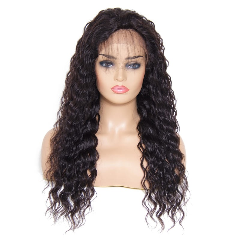 Beautyforever Long Deep Wave Free Part Lace Front Human